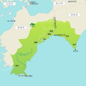 高知の地図